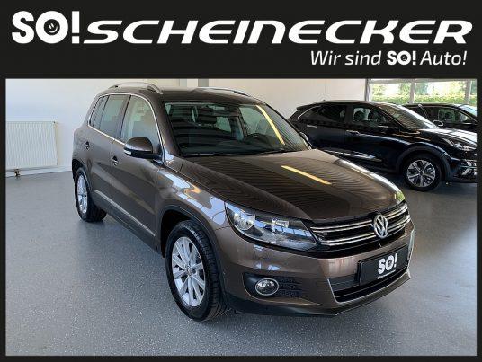 VW Tiguan 2,0 TDI Sport&Style BMT DPF bei Gebrauchtwagen Scheinecker in