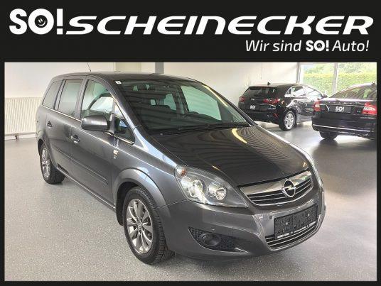 Opel Zafira 1,6 Style 111 Jahre ecoflex bei Gebrauchtwagen Scheinecker in