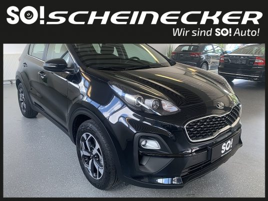 KIA Sportage 1,6 CRDI SCR MHD Silber DCT Aut. bei Gebrauchtwagen Scheinecker in