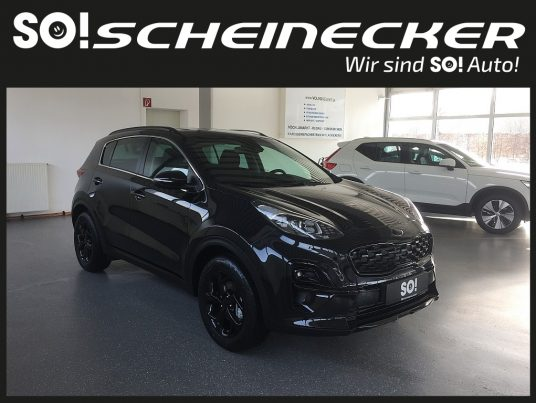 KIA Sportage 1,6 CRDI SCR MHD Black Edition bei Gebrauchtwagen Scheinecker in